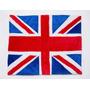 Tapete London Bandeira De Londres Em Pelúcia Com 1,10mx0,90m