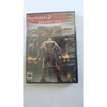 Jogo God Of War 2 Para Ps2 (greatest Hits) - Novo E Lacrado