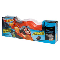 Hot Wheels City Pista Mutant Machines 3 Em 1 Acrobacias
