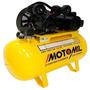 Compressor De Ar Motomil Cmv 10pl 100litros 140lbs 110v/220v