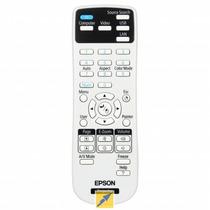 Controle Projetor Epson Original S18 X24 W18 Ebx02 1599176