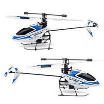 Mini Helicóptero V911 4 Canais, Com Gyro E Controle 2,4ghz