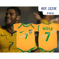 Body Bodies Infantil Copa Do Mundo Hulk Neymar Davi Luiz