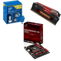 Kit Placa Mãe Asus Maximus Vii Hero Z97+ Intel I7 4790k +8gb