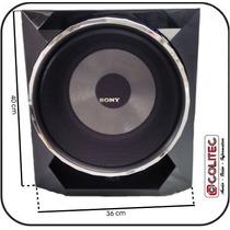 Caixa De Som 10 Pol Subwoofer Sony Ss-wgp55 Mhcgpx55 Lbt Sub