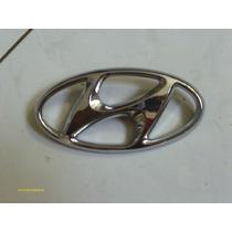 Emblema Traseiro Hyundai Original 15x7,5