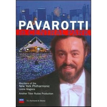 Dvd Pavarotti - In Central Park (lacrado)