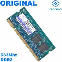 Memória Ddr2 512mb Nanya 533 Pc2-4200s-444-12 Notebook
