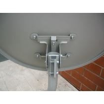 Antena 60cm Banda Ku+lnb Universal Simples+20mts De Cabo Rg6