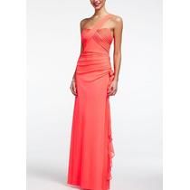 Vestido De Festa Plus Size Tam 48 - Pronta Entrega - Vf00044