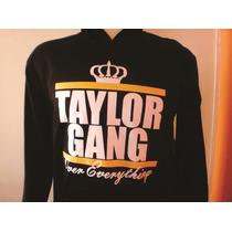 Blusa Casaco Moletom Hiphop Rap - Wiz Khalifa Taylor Gang