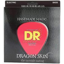 Cordas Dr Dragon Skin 0.45/125 Contrabaixo 5 Cordas Dsb5-45
