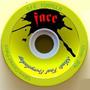 Rodas Longboard Face Skate Dalua Amarela 72mm 80a Downhill