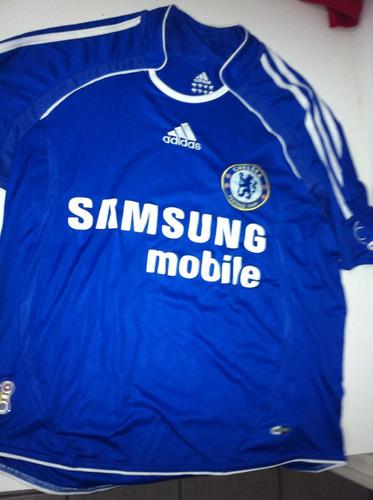 Camisa Chelsea Nova Infantil Tam.14 Climacool adidas 831c638655479