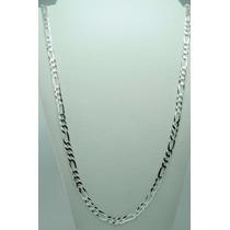 Cordão Corrente Masculina 3 Em 1 70cm Em Prata 925