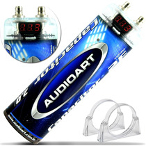 Mega Capacitor 2.0 Farad Digital Som Automotivo 2.000 W Rms