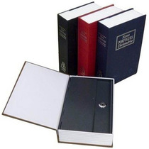 3und Cofre G R A N D E Camuflado Livro 2chaves Porta Joias