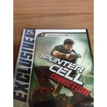 Jogo Para Pc Tom Clancys Splinter Cell Conviction Pt-br Novo