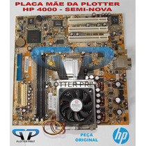 Placa Lógica Da Plotter Hp 4000 - Q1271-60225