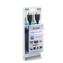 Cabo Hdmi Elgin 1.80 Metros 1.4 Full Hd 3d Alta Performance