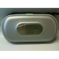 Case Protetor Para Psp 2000 - Prata