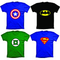 Camiseta Super Heróis,batman,super Man,capitão América,flash