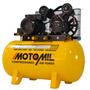 Compressor Ar Cmv10pl/100e 10 Pés 2hp 220/127v Monof Motomil