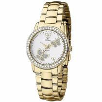 Relógio Champion Feminino Dourado Ch24115h - Original