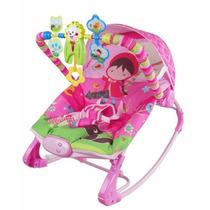 Cadeira Cadeirinha Bebê Descanso Musical Vibratoria Rocker