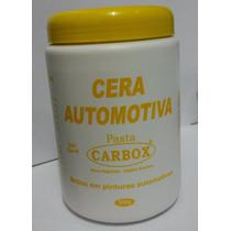 Cera Carnaúba Automotiva Pintura 500gr Brilho Pasta F.gratis