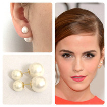 Joia Brincos Pérolas Shell Made Inspired Ouro 18k Certificad