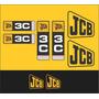 Kit Adesivos Jcb 3c - Decalx