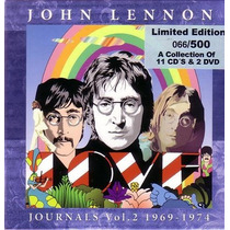 **john Lennon **journals Vol.2 1968/80-box Set**
