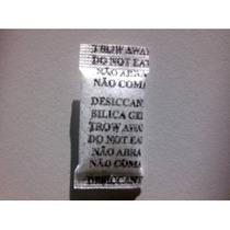 Silica Gel Branca-bag Com 100 Sachês De 1g Só 14,00 Reais