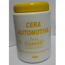 Cera Caraúba Automotiva Pintura 1kg Brilho Creme Pasta Carro
