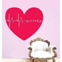 Adesivo Decorativo My Heart (82x72)cm - Frete Gratis
