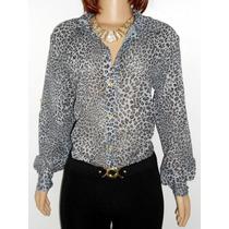 Camisa Feminina Oncinha. Compre E Ganhe Um Cinto Gratis