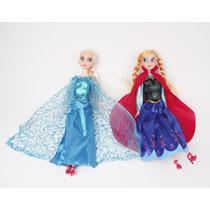 Bonecas Elsa E Anna Frozen Sem Caixa 2