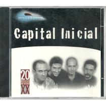 Cd-capital Inicial -millennium-20 Músicas Do Século Xx