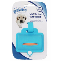 Dispenser Sacolinhas Cata Caca Cães Pet Shop Silicone Cores