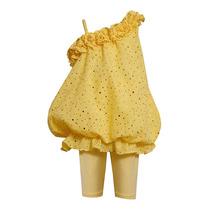 Bonnie Jeans Bebe Conjunto Criança Amarelo Cintilante 2 Anos