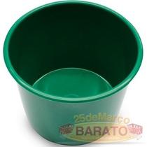 50 Baldinho P/lembrancinhas Verde Folha 1 Litro - R$0,99un