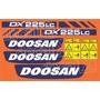 Kit Adesivos Doosan Dx225 Lc - Decalx