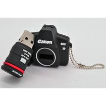 Câmera Canon 5d Pen Drive 4gb Chaveiro