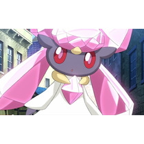 Pokémon Diancie Legítima Evento Japão Cherish Ball Via Wi Fi