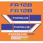 Kit Adesivos Fiatallis Fr 12b - Decalx