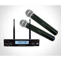 Microfone S/fio Duplo Tsi-ud-2000-uhf