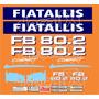 Kit Adesivos Fiatallis Fb 80.2 - Decalx