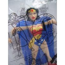 Dc Comics Boneco Mulher Maravilha Raro - Gratis Frete