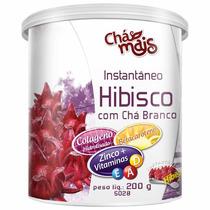 Hibisco Com Chá Branco Instantâneo - 200g
